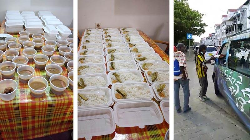 Stichting Rachab biedt voedselhulp in Suriname