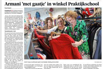 opening Enjoy Kledingcafé Grootebroek in de Praktijkschool